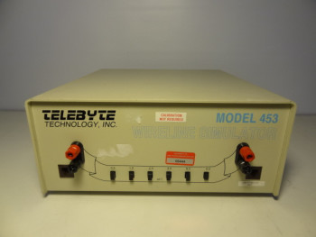 Telebyte 453 Wireline Simulator 26 AWG Gauge Cable