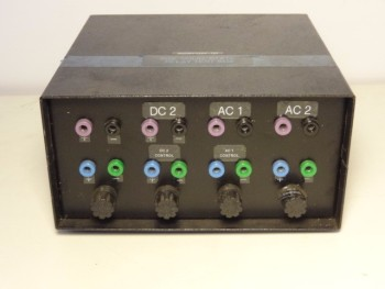 Omega Aux Solid State Relay Test Box With (2) SSRDC100VDC20 Relay