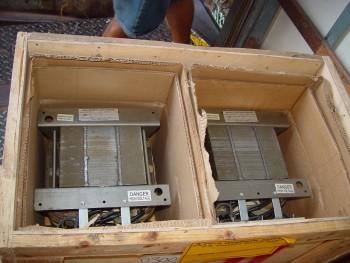 (1) Hanovia 7.5 KW Mercury Vapor Lamp Stabilizer - Ballats Transformer