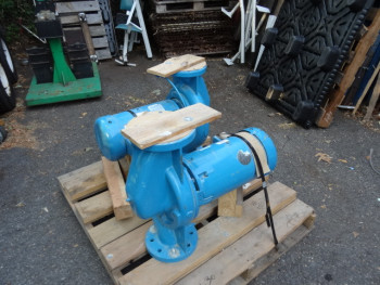 (1) Grundfos Paco Industrial Heavy Duty Pump 365 GPM 60 TDH & Baldor 10 HP Motor