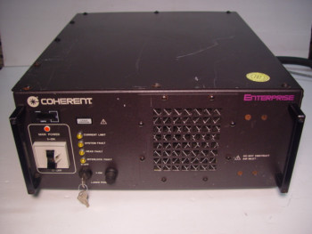 Coherent Enterprise ENTCII-621-BD Ion Laser Head Power Supply