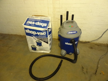Shop-Vac 334640 10-Gallon Wet & Dry Shop Vacuum 4-Peak HP