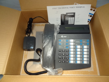 Lot of (20) AT&T - Lucent Business Digital Voice Terminal 7206 - NEW IN BOX