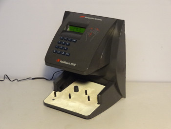 Recognoitions Systems HandPunch 1000 Biometric Hand Finger Print Time Clock