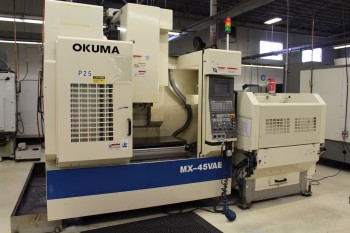 1999 OKUMA MX-45VAE CNC VERTICAL MACHINING CENTER