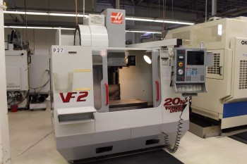 2001 HAAS VF-2B CNC VERTICAL MACHINING CENTER
