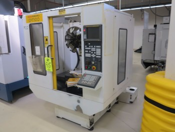 1996 FANUC ROBODRILL X-T 10C CNC DRILLING AND TAPPING CENTER