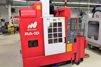 1997 MATSUURA RA-IG CNC VERTICAL MACHINING CENTER