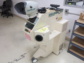LASER STAR WORKSTATION, CPP LASER WELDER, S/N 0042859