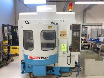 2001 SUPERMAX YCM-FV56A CNC VERTICAL MACHINING CENTER