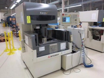 2002 MITSUBISHI FA-10V CNC WIRE EDM