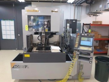 2005 SODICK AQ 537 L WIRE CUTTING EDM MACHINE