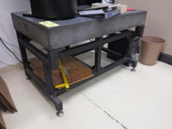 SURFACE PLATE W/ STAND, 48\
