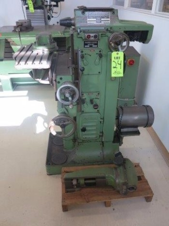 DECKEL, MODEL FP1, S/N 2100-34076, HORIZONTAL MILL