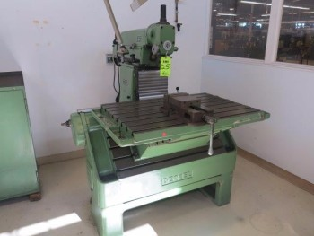 DECKEL, MODEL FP31, S/N 1491, VERTICAL MILL