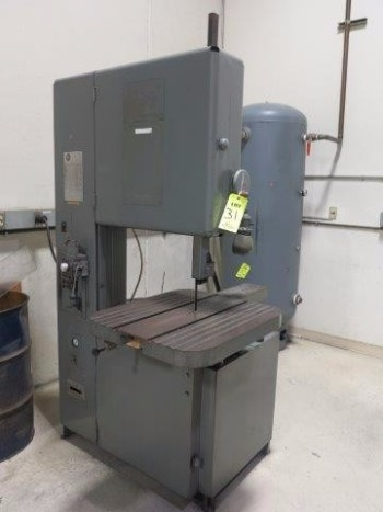 GROB VERTICAL BANDSAW, MODEL 4V24