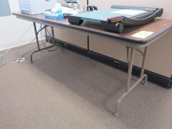 6'X30' FOLDING TABLE