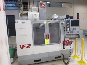 2001 HAAS VF-2 CNC VERTICAL MACHINING CENTER