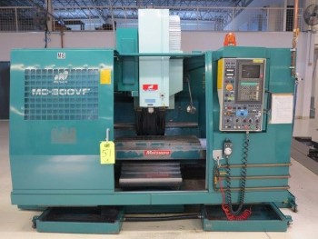 1993 MATSUURA MC-800 VF CNC MACHINING CENTER