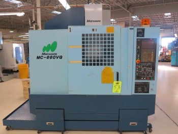 1999 MATSUURA MC-600 VF CNC VERTICAL MACHINING CENTER