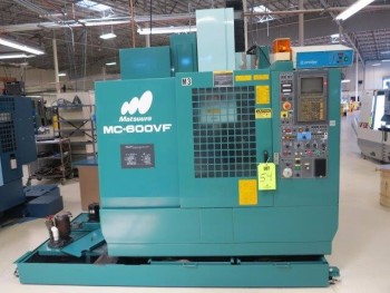 1998 MATSUURA MC-600 VF CNC VERTICAL MACHINING CENTER
