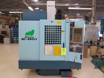 2000 MATSUURA MC-550VX CNC VERTICAL MACHINING CENTER