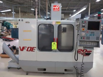 2000, HAAS VF-OE CNC VERTICAL MACHINING CENTER
