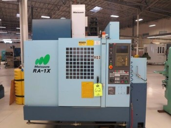 2001 MATSUURA RA-1X CNC VERTICAL MACHINING CENTER