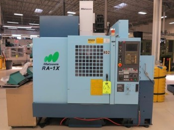 2000 MATSUURA RA-1X CNC VERTICAL MACHINING CENTER