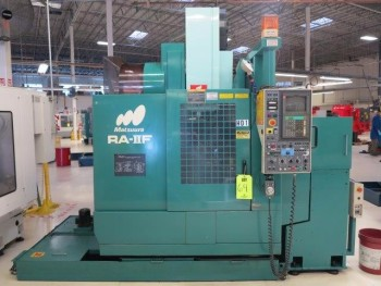 1997 MATSUURA RA-2F CNC VERTICAL MACHINING CENTER
