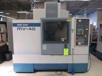 1999 MORI SEIKI MV-40/40 CNC VERTICAL MACHINING CENTER
