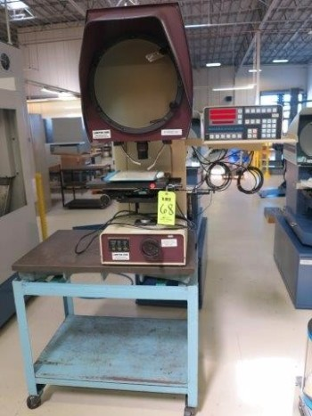 S-T INDUSTRIES, OPTICAL COMPARATOR, MODEL 20-4600 W/ STAND
