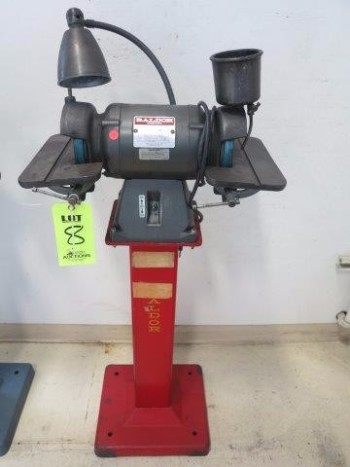 BALDOR, DOUBLE END GRINDER, 1/2 HP, MODEL 522