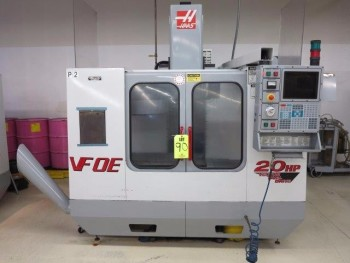 2000 HAAS VF-OE CNC VERTICAL MACHINING CENTER