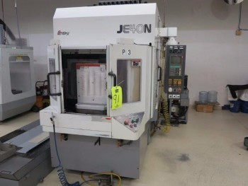1996 ENSHU JE40N CNC HORIZONTAL MACHINING CENTER