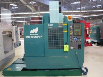 1994 MATSUURA MC-600 VF CNC VERTICAL MACHINING CENTER