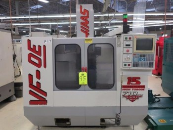 1997 HAAS VF-OE CNC VERTICAL MACHINING CENTER