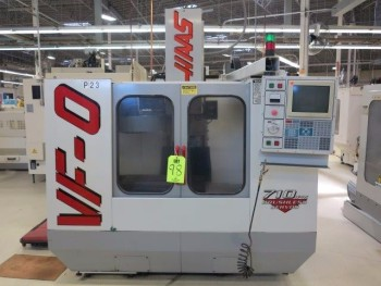 1997 HAAS VF-0 CNC VERTICAL MACHINING CENTER