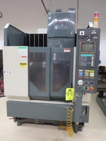 1996 ENSHU S-400 CNC VERTICAL MACHINING CENTER