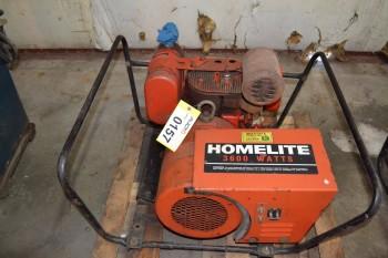 HOMELITE 3600 WATTS GENERATOR