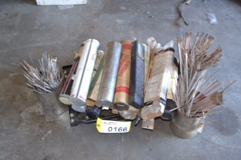LOT OF WELDING RODS