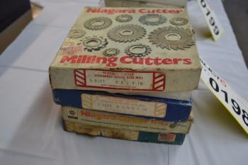 LOT OF 4 SIDE MILLING CUTTERS