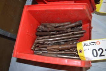 LOT OF ASSORTED DRILL BITS AND REAMERS