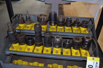 LOT OF CNC TOOLING