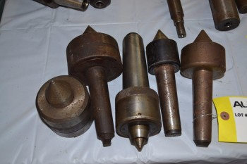 LOT OF 5 ASSORTED LATHE TOOLING