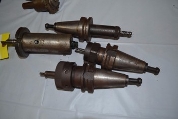 LOT OF 4 ASSORTED CNC TOOLING