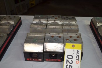 LOT OF 3 101-1240 CHICK SYSTEM 5 QWIK-LOKS WORKHOLDING CHUCK
