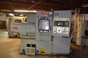 1986 VICTOR TNS-2 CNC LATHE TURNING CENTER