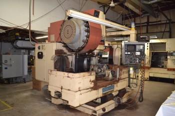 1986 OKUMA & HOWA MILLAC 4VA CNC VERTICAL MILLING MACHINE
