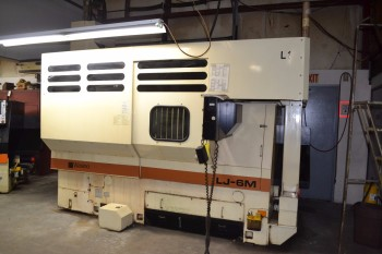 1990 WASINO LJ-6MC CNC LATHE TURNING CENTER